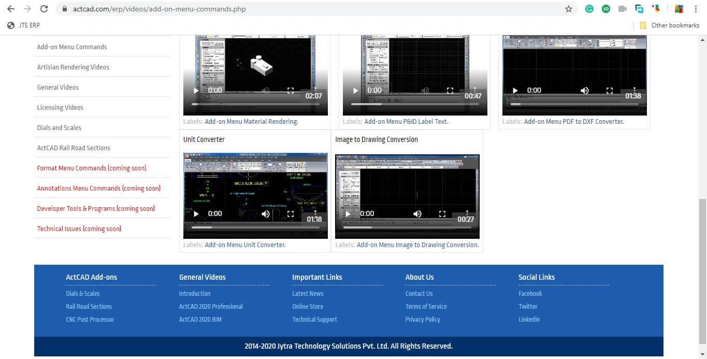 CAD video tutorials